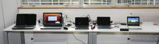 Comparatif de 7 notebook et netbook