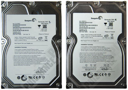 Disques durs Seagate Barracuda 7200.12