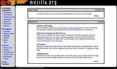 Site internet Mozilla