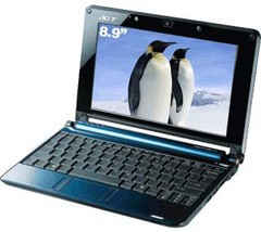 netbook Aspire One A110L Blue