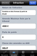 Application iPhone iPermis
