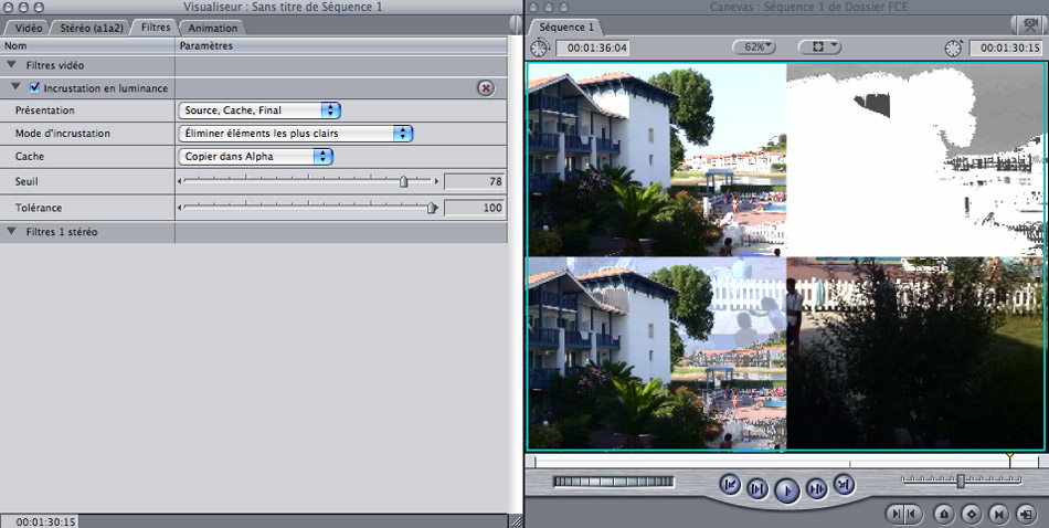 how to playback video in final cut express