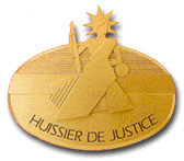 Logo huissier de justice