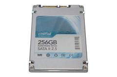 SSD Crucial M225 256Go - CT256M225 : face